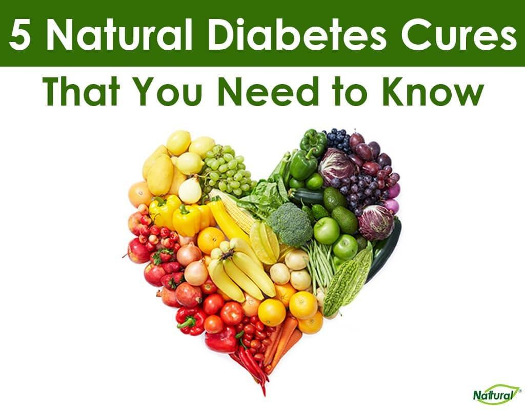 5 Natural Diabetes Cures That You Need to Know