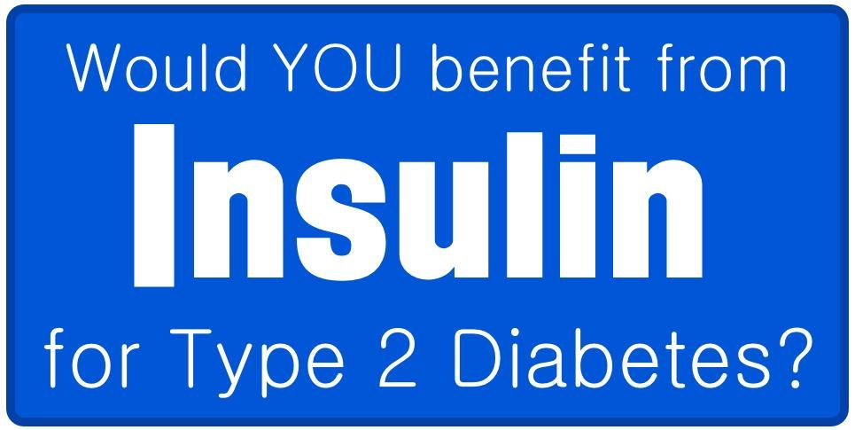 """do I Need Insulin For My Type 2 Diabetes?"""