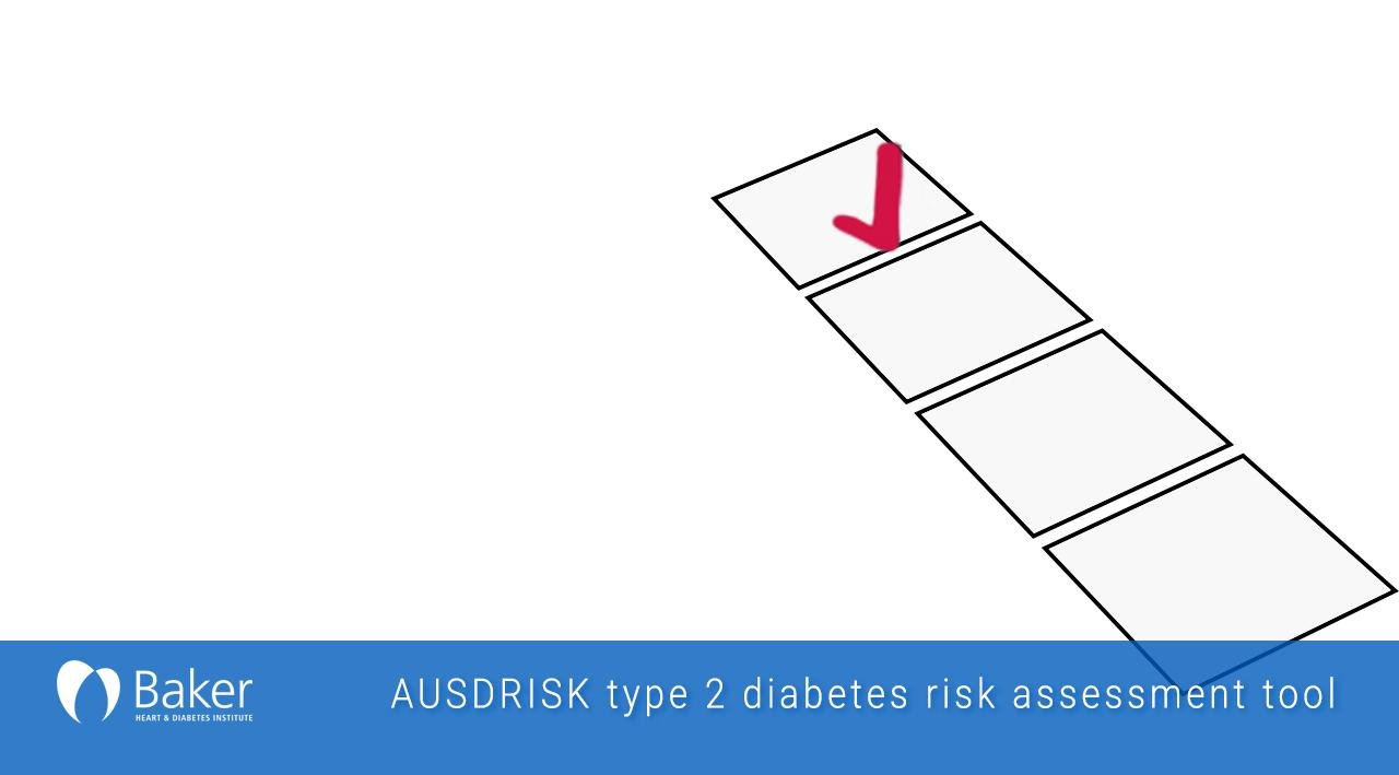 Risk Assessment Tool For Type 2 Diabetes (ausdrisk)