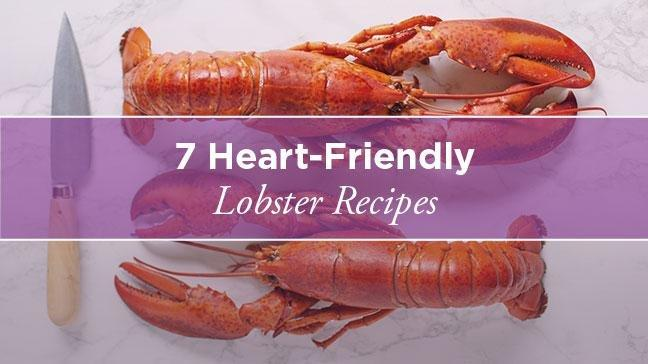 Lobster And Cholesterol Control