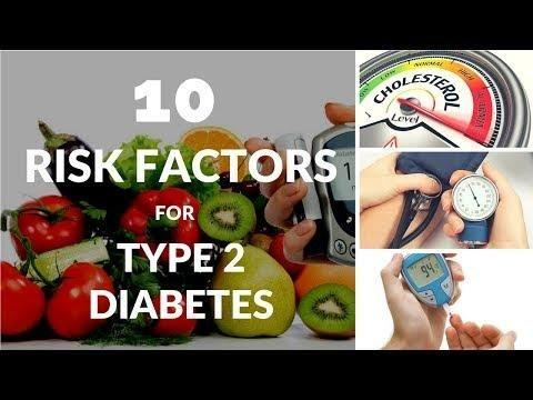 What Are The Risk Factors For Developing Type 2 Diabetes?