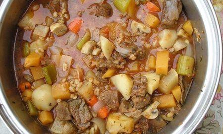 Diabetic Beef Vegetable Soup Recipe