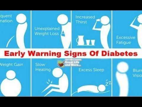 What Are The Early Signs Of Diabetes In Adults?