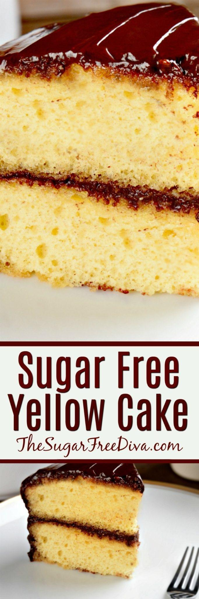Sugar Free Cake Recipes For Diabetics
