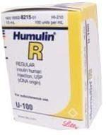 Humulin R Storage After Opening