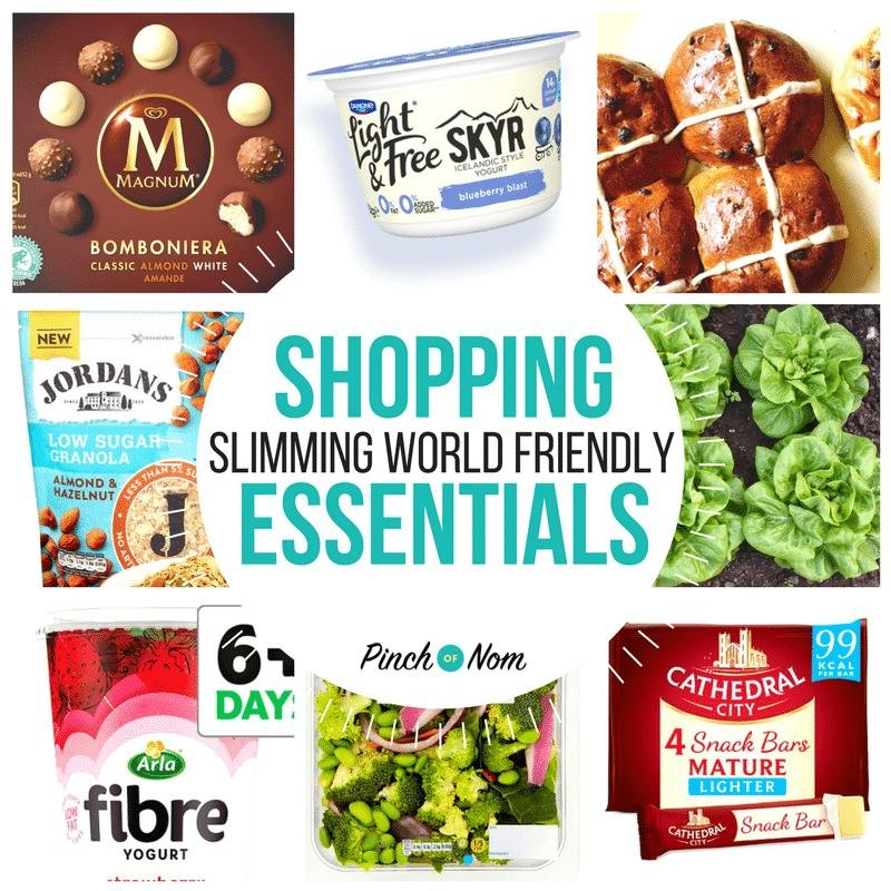 New Slimming World Shopping Essentials 16/2/18
