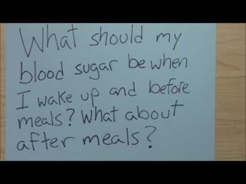 When To Test Blood Sugar After Meals