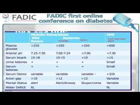 Difference Between Dka And Hhs Table