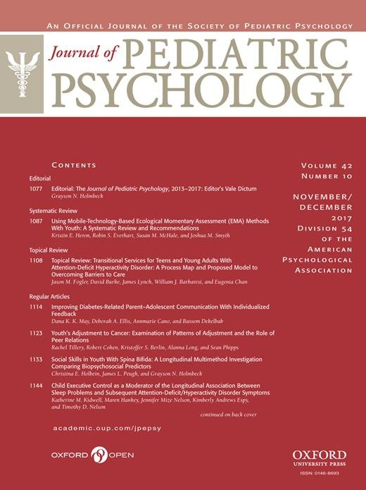 Anxiety Symptoms In Adolescents With Type 1 Diabetes: Association With Blood Glucose Monitoring And Glycemic Control