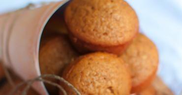 Pumpkin Oatmeal Muffins No Flour