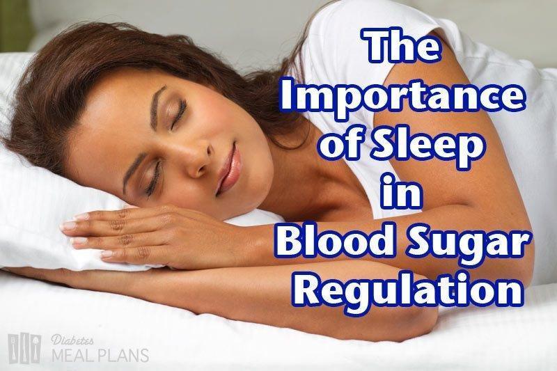 The Importance Of Sleep In Blood Sugar Regulation