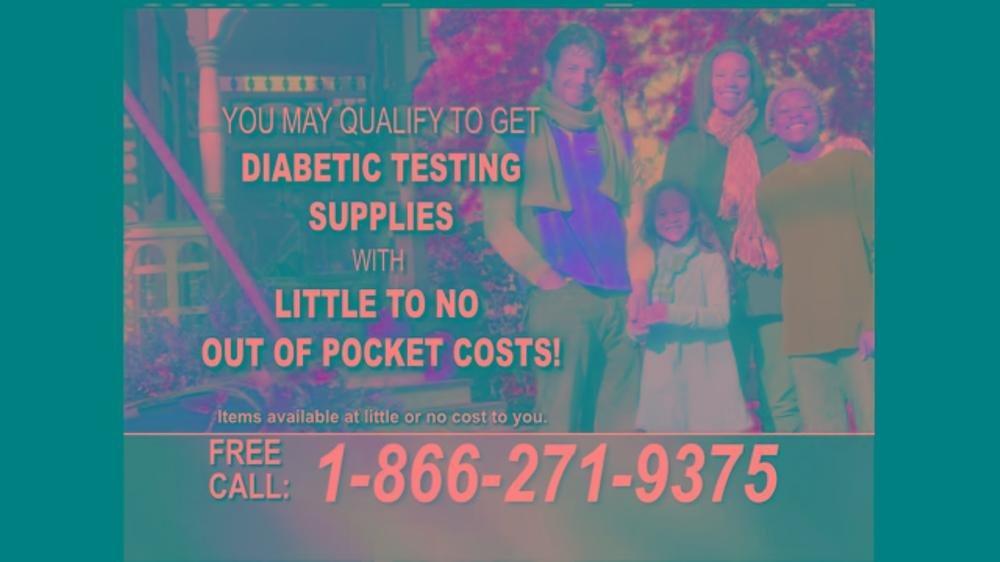 24/7 Diabetic Health Hotline Tv Commercial, 'testing Supplies'