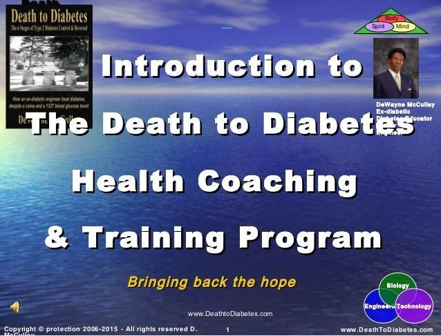 Diabetes Health Coaching And Business Training Program