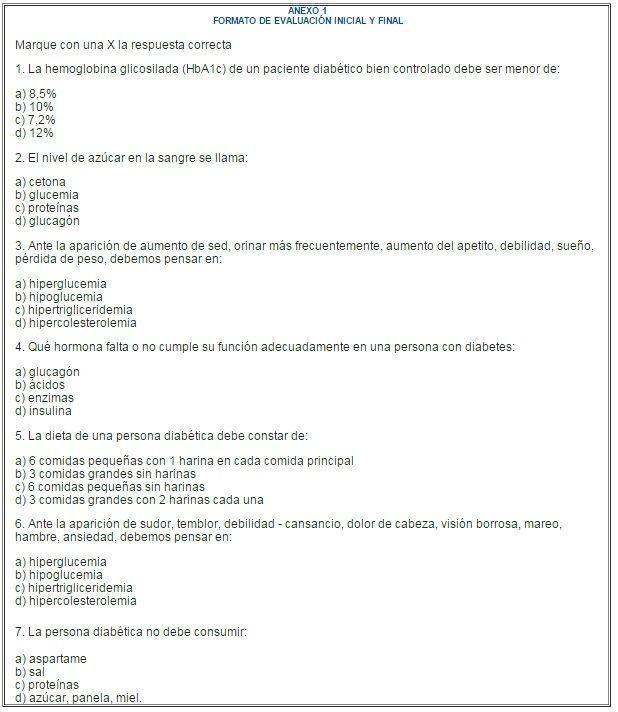 Intervencin De Enfermera En El Manejo Preventivo De La Diabetes E Hipertensin