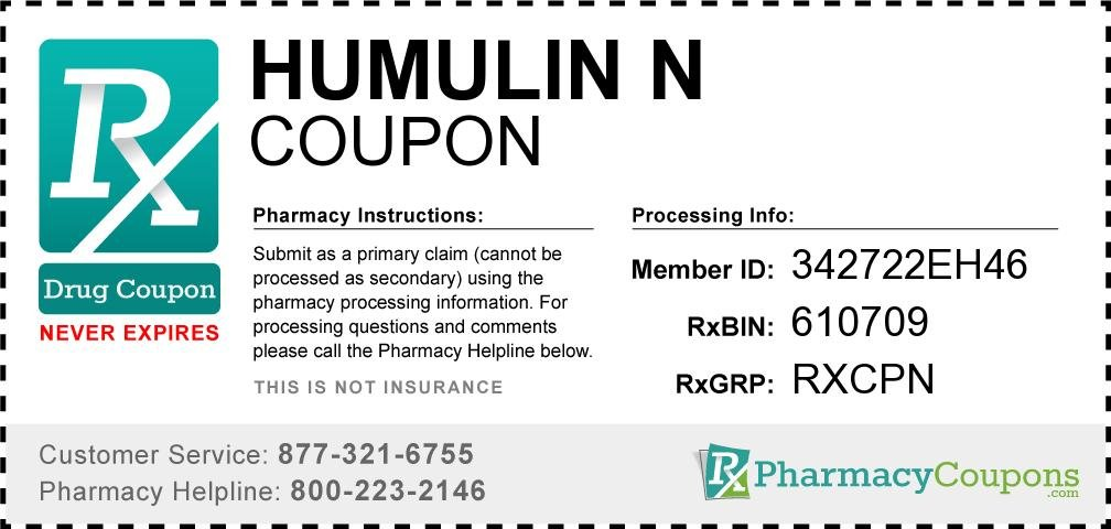 Humulin R 100 Coupon