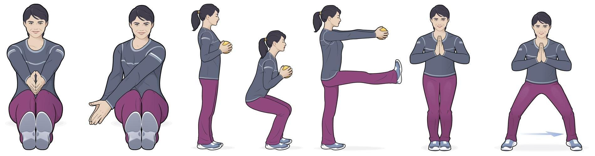 6 Moves For A Total Body Workout