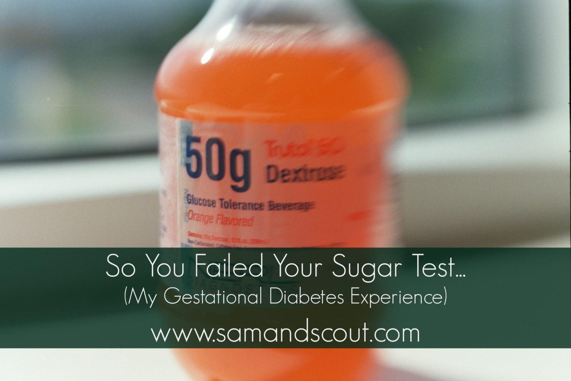 Ate Sugar Before Glucose Test