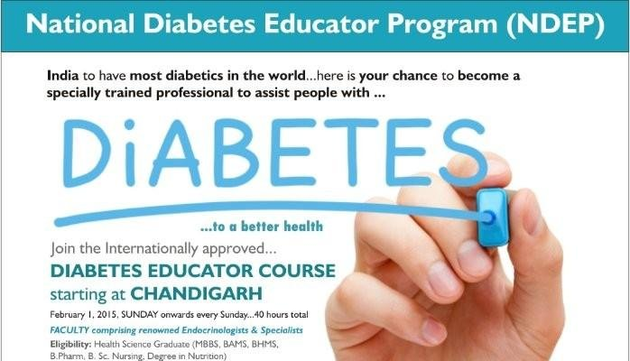 Diabetes Educator Course In Chandigarh