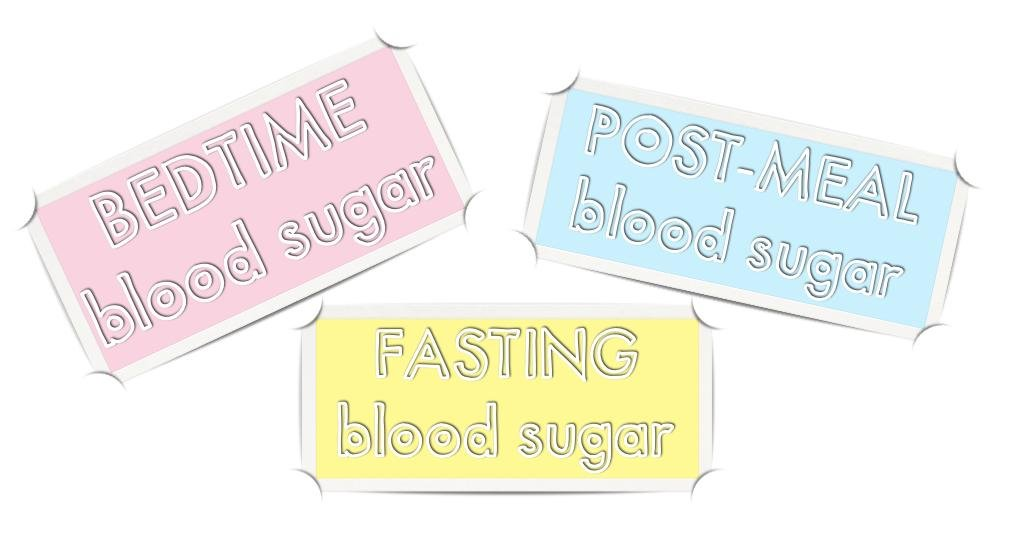 My Three Most Important Blood Sugar Readings