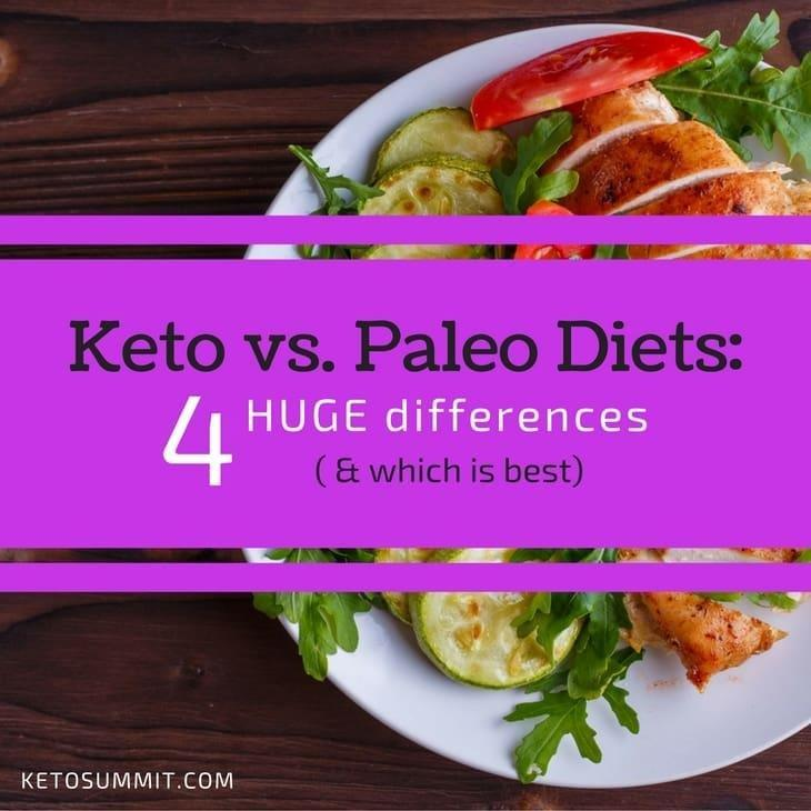 Keto Vs Paleo Diets: 4 Huge Differences (+ Which Is Best)