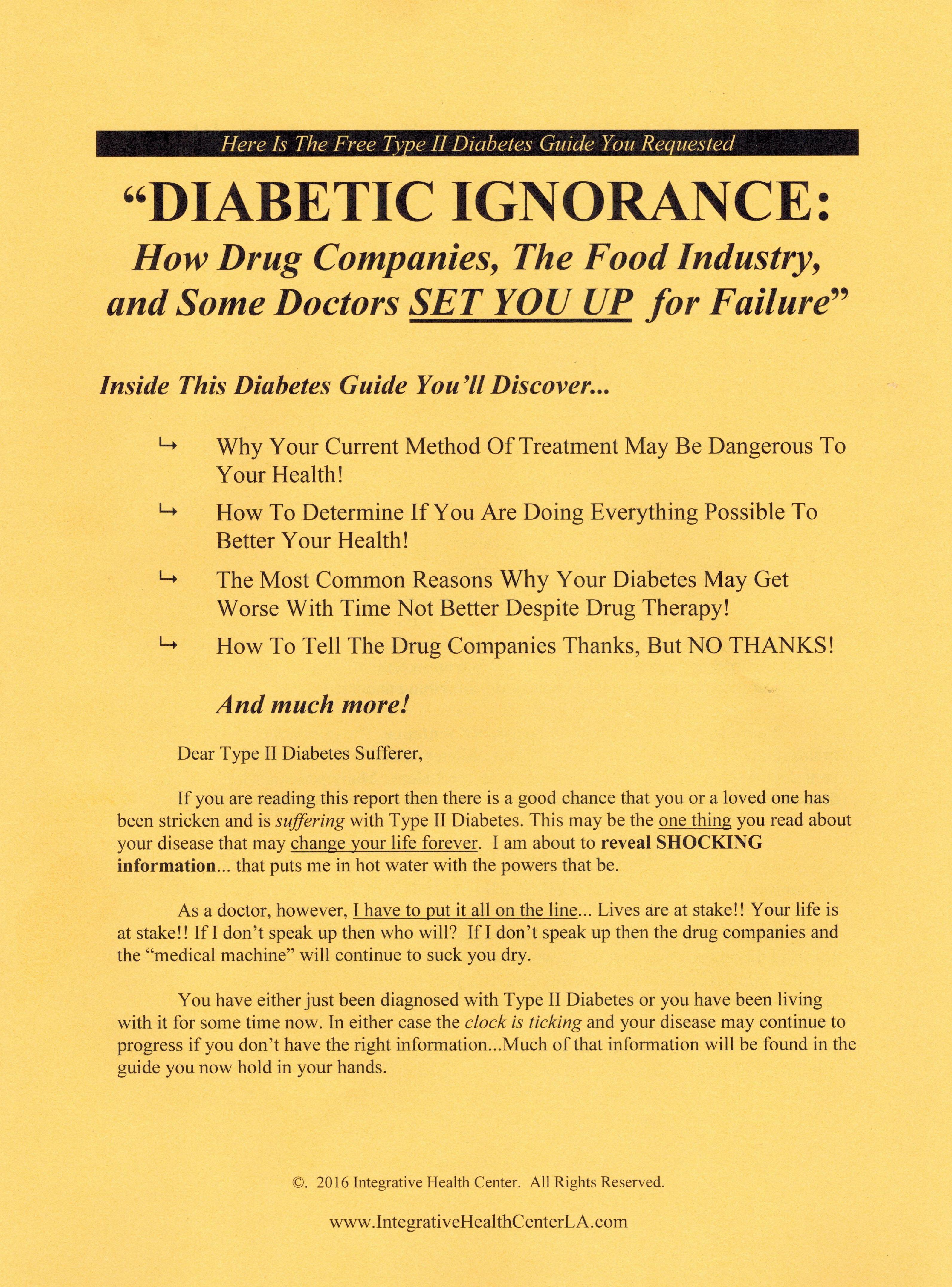 Diabetes Reversal Seminar
