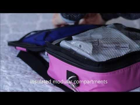 Diabetes Supplies Travel Bag Organizer And Essentials Eugo Diabetes Travel Case And Essentials