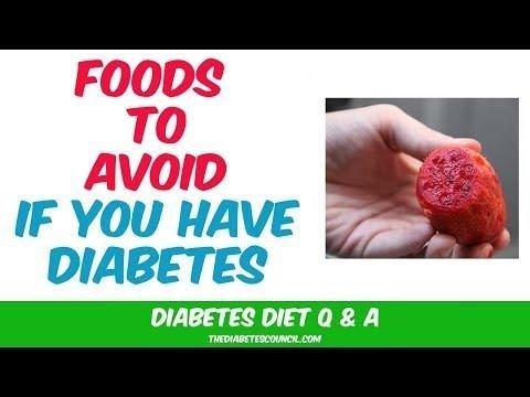 11 Foods To Avoid With Diabetes