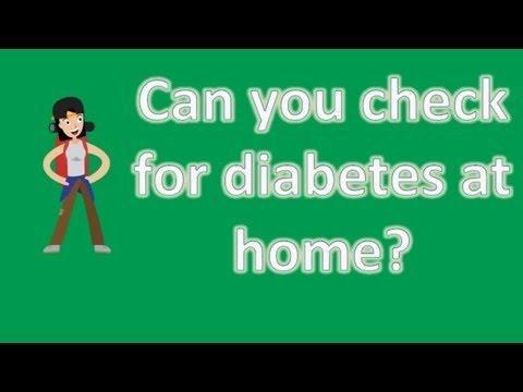 Type 2 Diabetes Test At Home