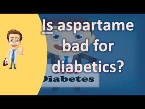Aspartame And Diabetes-is It A Bad Combination