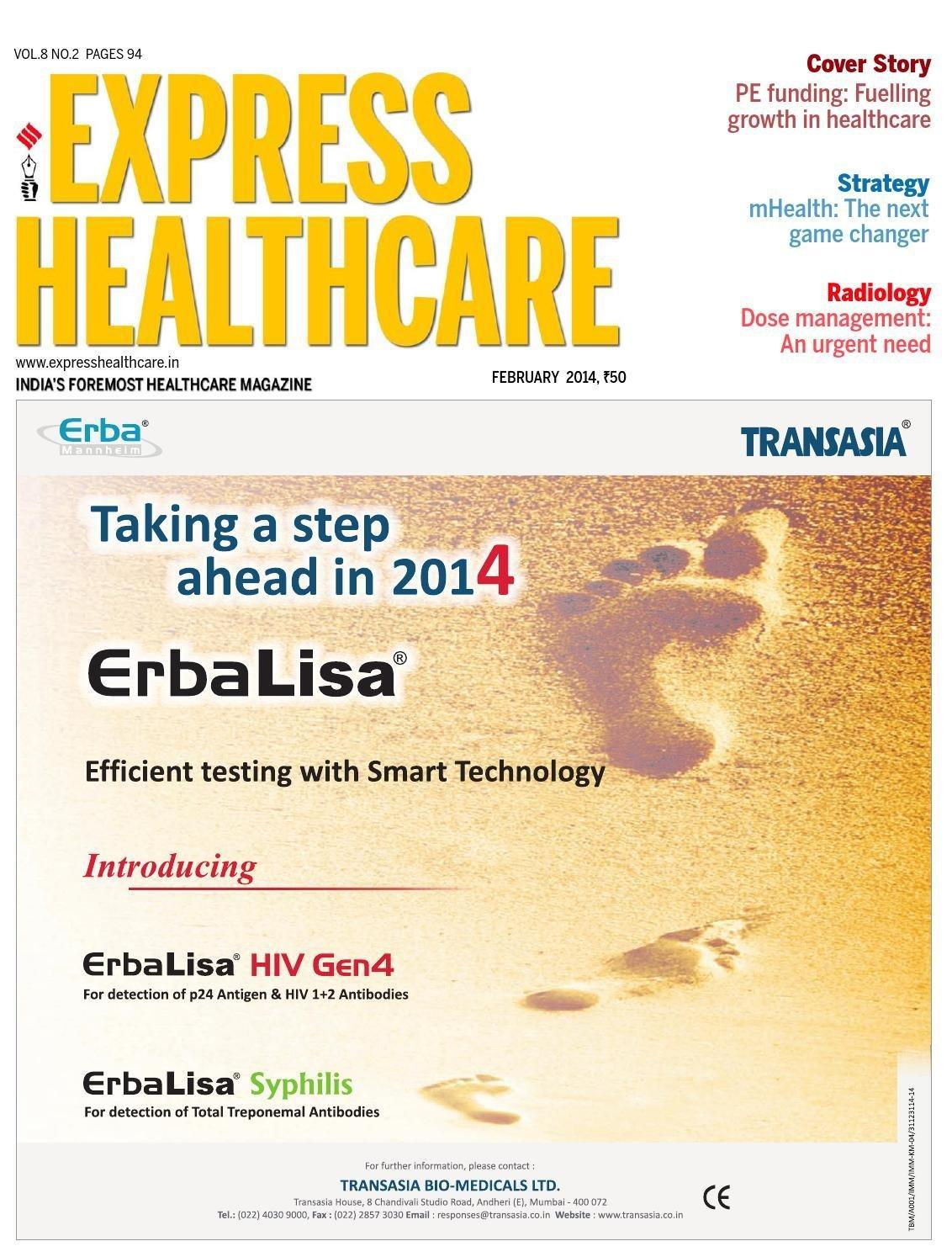 Express Healthcare February 2014 By Indian Express - Issuu