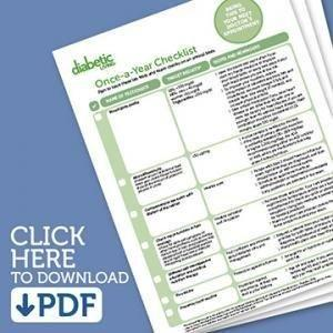Diabetes Check Up Checklist