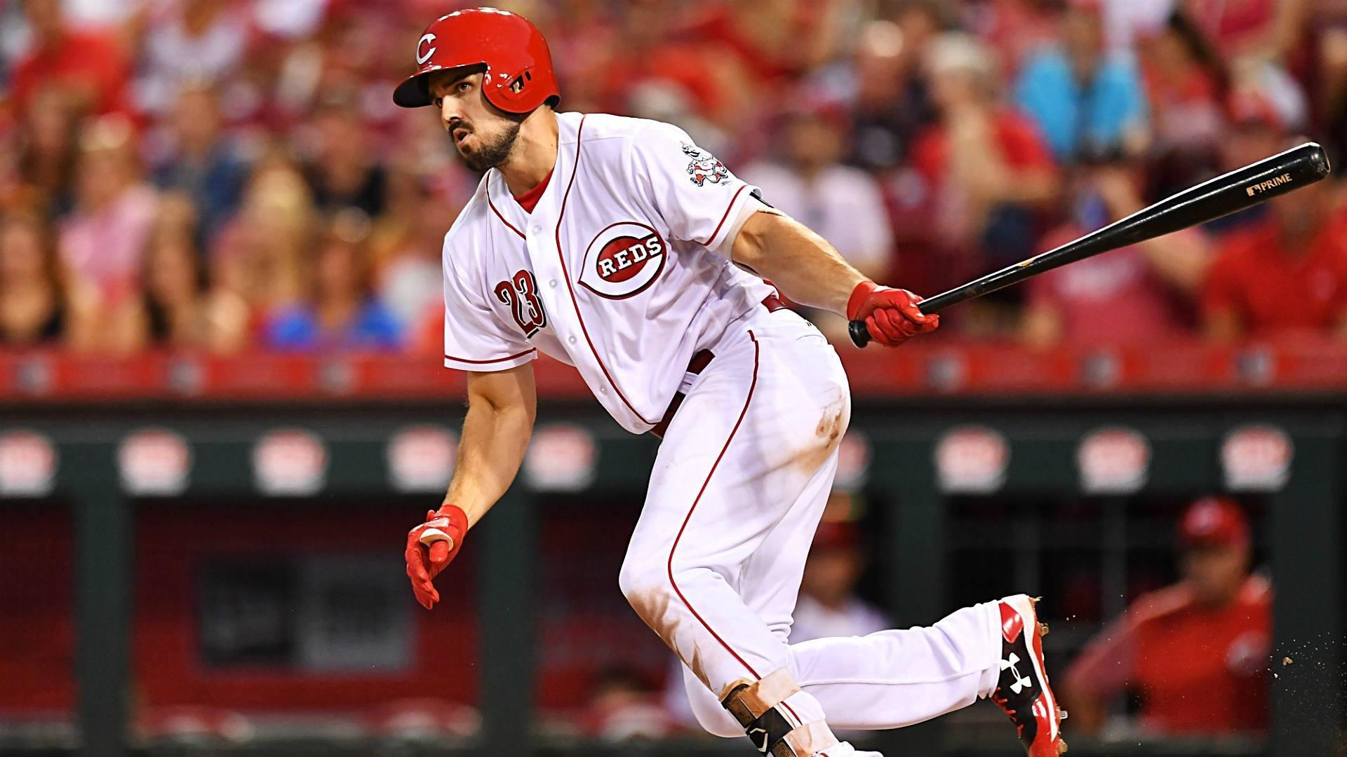 Reds' Adam Duvall excels on field as he keeps diabetes in check