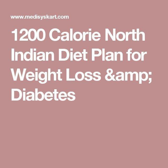 1200 Calorie Indian Diet Plan For Diabetes
