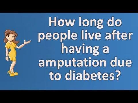 How Long Can I Expect To Live After Amputation From Diabetes?