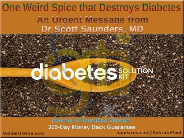 1 Unusual Spice That Cures Diabetes