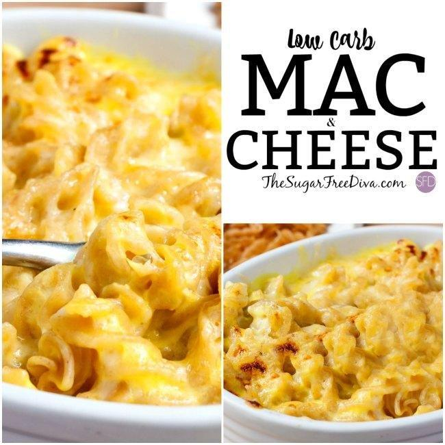 The Recipe For How To Make Low Carb Mac And Cheese