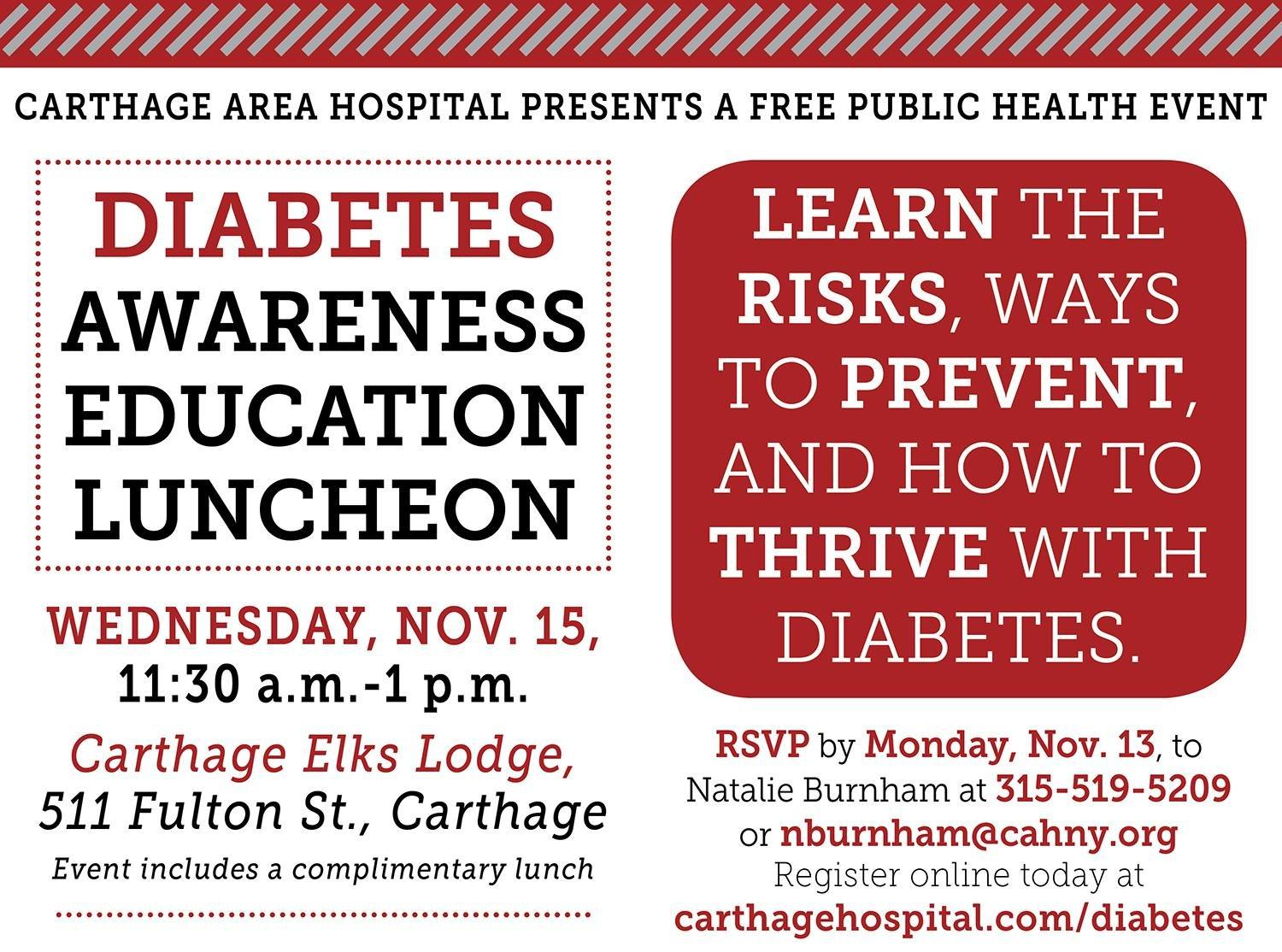 Diabetes Awareness Luncheon Offers Valuable Education for All