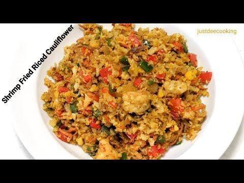 Fried Cauliflower Rice & Shrimp