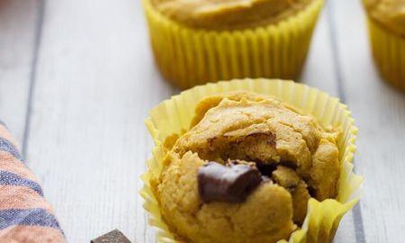 Pumpkin Muffins Made With Almond Flour