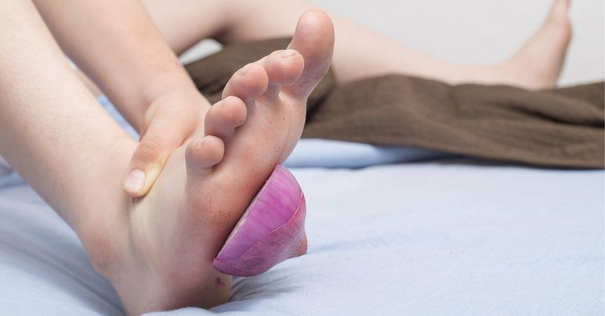 Does Putting A Raw Cut Onion In Your Sock Cure Medical Ailments?
