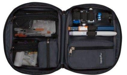 Diabetes Travel Bag From Myabetic: For When You Really Need All Your Diabetes Gear In One Safe Place