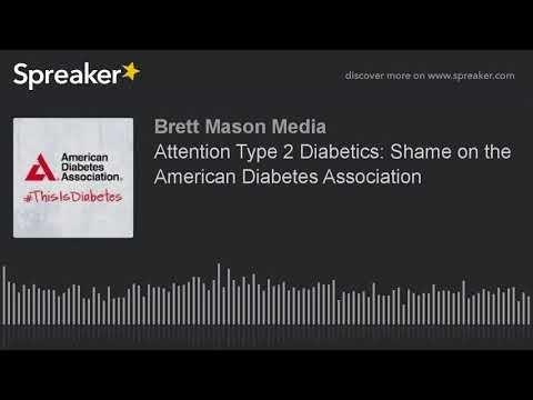 Diabetes #1 Shame Of The