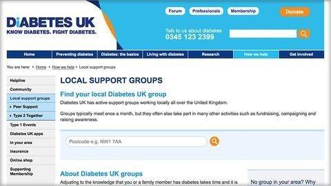 Type 1 Diabetes Support Group Online