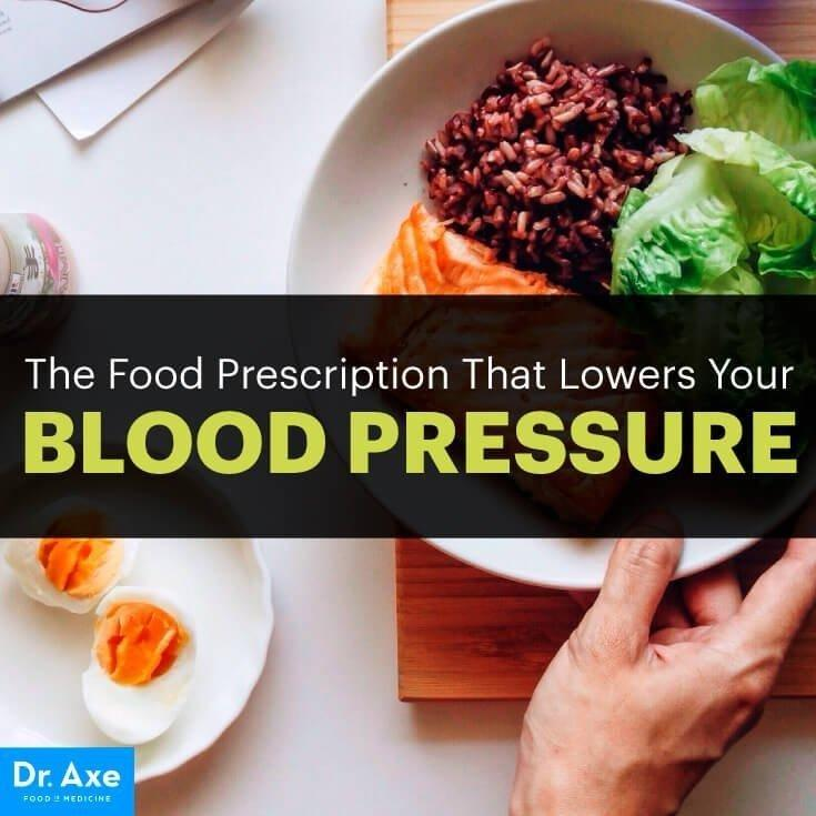 High Blood Pressure Diet & Natural Remedies