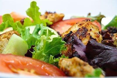 Spicy Chicken Shawarma Salad Recipe