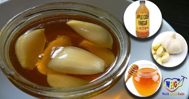 The Powerful Combination Of Garlic, Apple Cider Vinegar And Honey Can Fight Diabetes, Obesity, Indigestion And Many More!