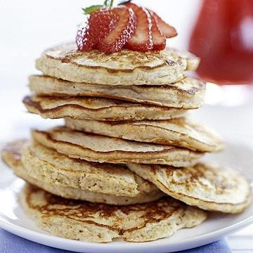 Honey-oat Pancakes | Diabetic Living Online