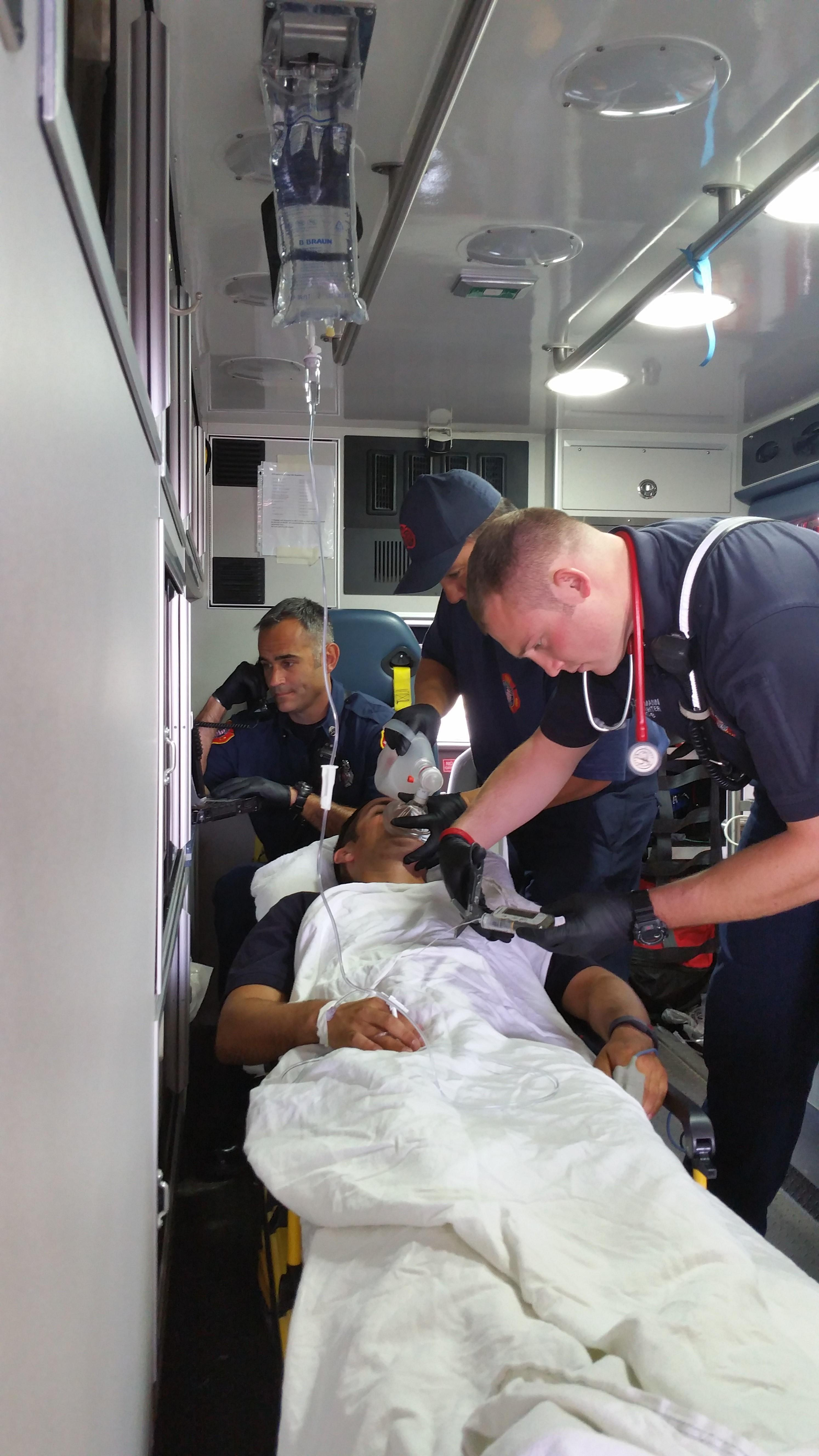 Ems Treatment Of The Type 1 Diabetic Insulin Pump User