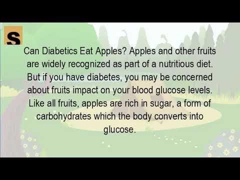 Should Diabetics Eat Apples