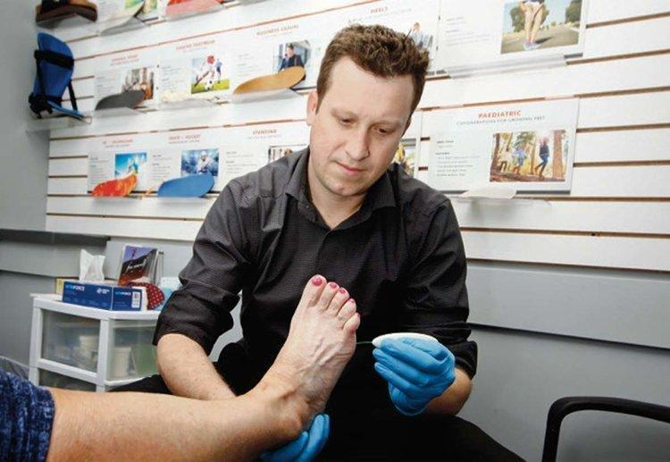 Protecting foot health very important for people living with diabetes